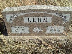 Lee William Rehm