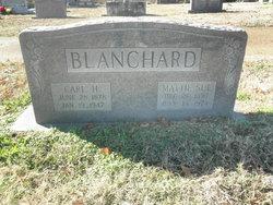 Mattie Sue <I>Johnson</I> Blanchard