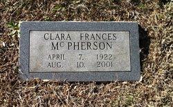 Clara Frances McPherson