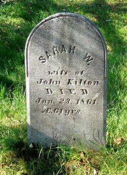 "Sarah Woodbury ""Sally"" <I>Sawyer</I> Kilton"