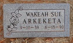 Wakeah Sue Arkeketa