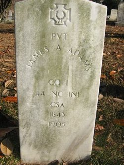 Pvt James A. Adams