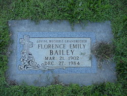 Florence Emily Bailey
