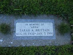 Sarah Anna <I>Carr</I> Brittain