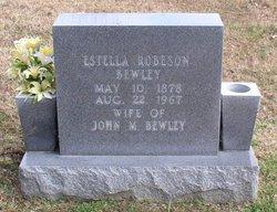 "Cora Estella ""Estelle"" <I>Robeson</I> Bewley"