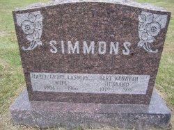 Hazel Grace <I>Lasbury</I> Simmons