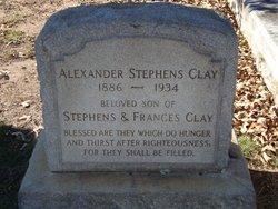 "Alexander Stephens ""Lex"" Clay"