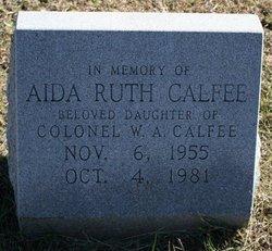 Aida Ruth Calfee