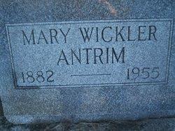 Mary Margaret <I>Wickler</I> Antrim