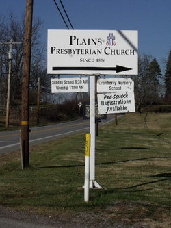 Plains United Presbyterian Church Cemetery