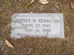Sidney W. Adams, Jr