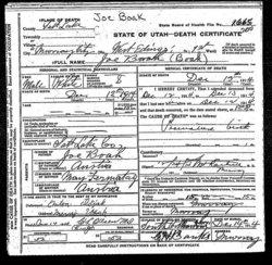 Joe Boak, Jr