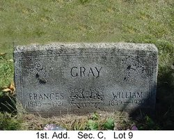 "Frances ""Fannie"" <I>McQuaid</I> Gray"