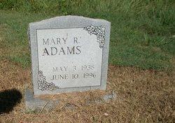 Mary R Adams
