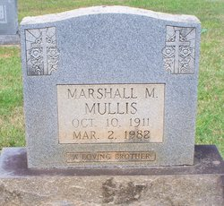 Marshall Morrison Mullis