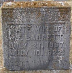 Kate <I>Carter</I> Barrett