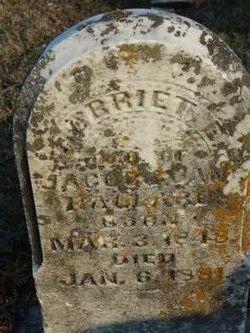 "Harriet E ""Hattie"" <I>Ballard</I> Parrett"