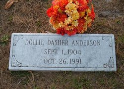 Dollie Burnice <I>Dasher</I> Anderson
