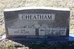 Mildred Irene <I>Whitehead</I> Cheatham
