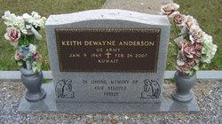 """Keith DeWayne """"Freeze"""" Anderson"""