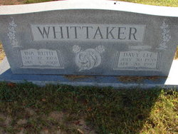 Davy Lee Whittaker