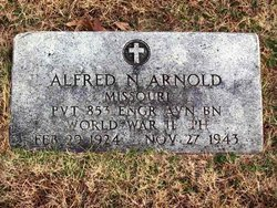 PVT Alfred N Arnold