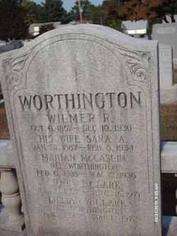 Lillian <I>Worthington</I> Clark