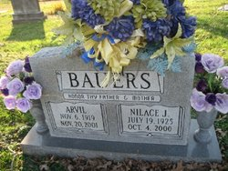 Nilace Bentley <I>Blankenship</I> Bauers