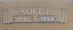 Alice T. <I>Yarbrough</I> Graves