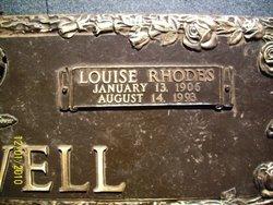 Louise <I>Rhodes</I> Bagwell