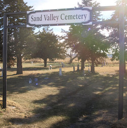 Sand Valley Cemetery