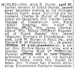 Alice Etola <I>Kopf</I> Hurley
