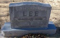 Ona Lea <I>Millman</I> Lee