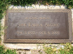 Amy Laura <I>Walton</I> Autry