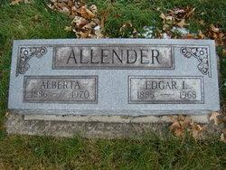 Alberta <I>Hoagland</I> Allender