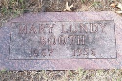 Mary <I>Lundy</I> Booth