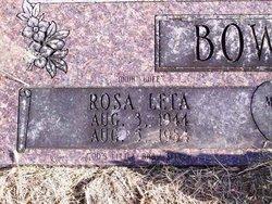 Rosa Leta Bowman