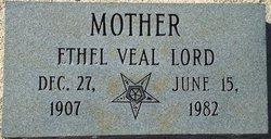 Ethel Lena <I>Burch</I> Veal-Lord