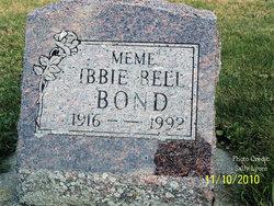 "Ibbie Bell ""Meme"" <I>Joplin</I> Bond"