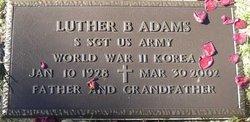 Luther B. Adams