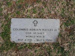 "Columbus Adrian ""Abe"" Hayles, Jr"