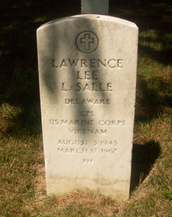 Corp Lawrence Lee LaSalle