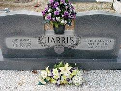 Lillie Jane <I>Cordell</I> Harris