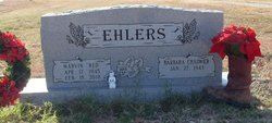 """Marvin R. """"Red"""" Ehlers"""