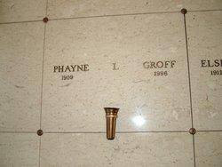 Phayne L. Groff