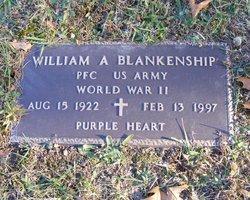 PFC William A. Blankenship