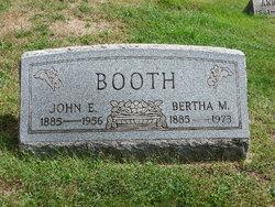 Bertha <I>Morlan</I> Booth