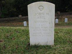 2LT John Herbert Abel