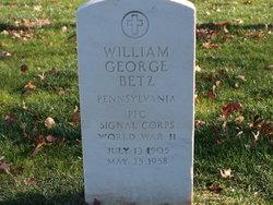 William George Betz