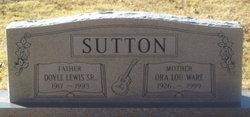 Ora Lou <I>Ware</I> Sutton